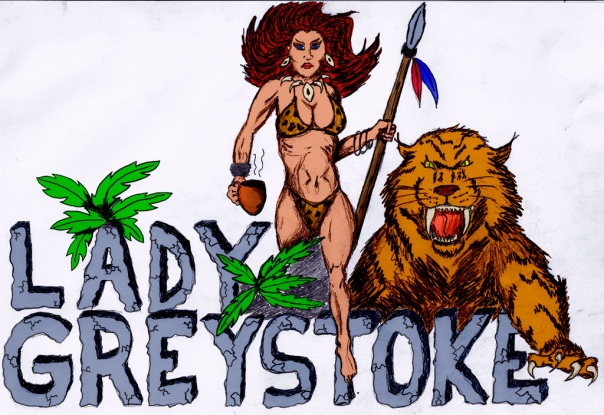 Lady Greystoke logo by Doug Bailey