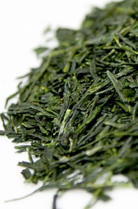 sencha leaves