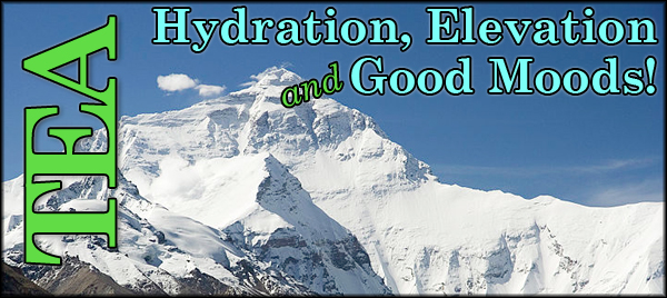 Hydration, Elevation, and Good Moods