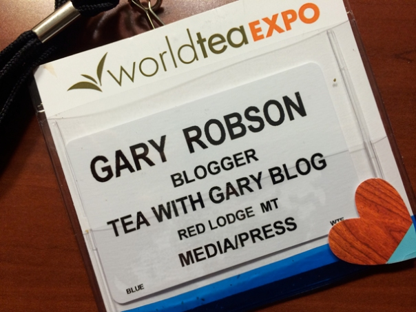 Tea Expo Badge
