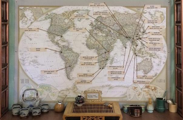 Tea map