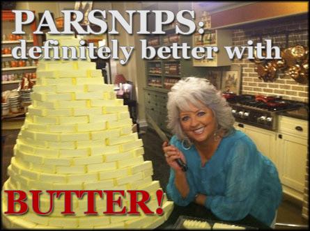 Paula Deen butter