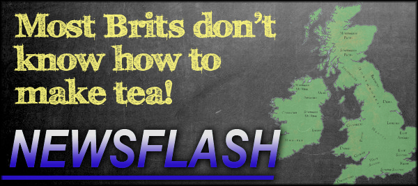 Brits don't know how to make tea!
